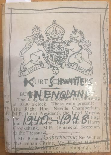 Kurt Schwitters in England